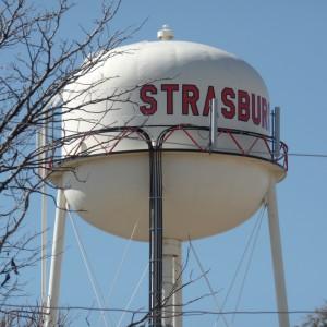 Strasburg water tower