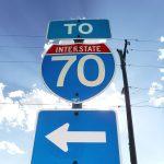 I-70 Sign