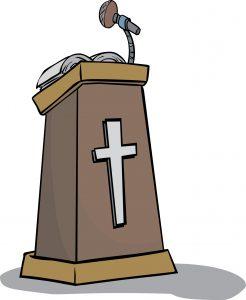 Christian podium